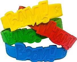 48 Piece Superhero Bracelet Party Supplies - Superhero Party Favors