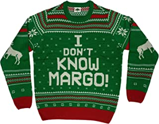 I Don't Know Margo Ugly Christmas Sweater Green