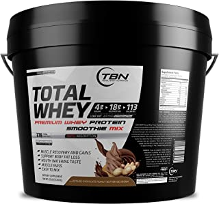Whey Protein, Protein Shakes, Healthy Shakes, Whey Smoothie 25 Lbs (Chocolate Peanut Butter Ice Cream)