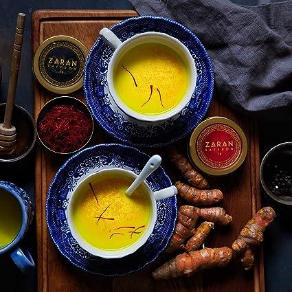 Zaran Saffron, Superior Saffron Threads (Super Negin) Premium grade Saffron Spice for Paella, Risotto, Tea's, and all Culinary Uses (2)
