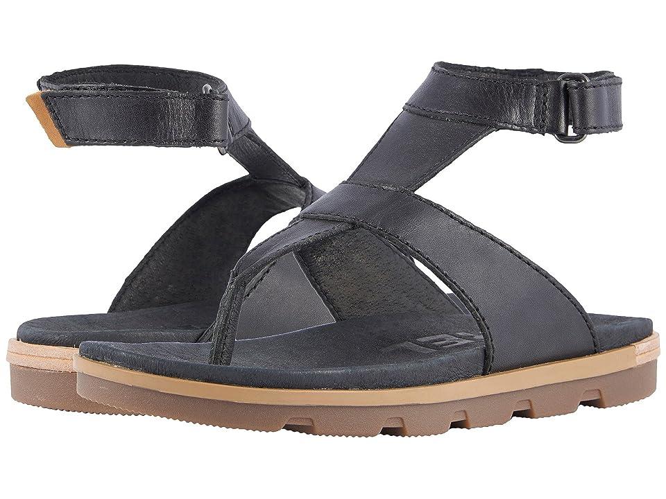SOREL Torpeda Ankle Strap (Black) Women