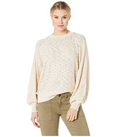 American Rose Alex Long Sleeve Sweater (Natural) Women