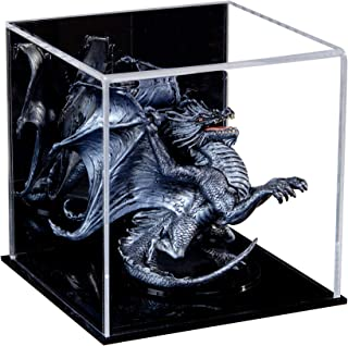Better Display Cases Versatile Acrylic Mirrored Display Case, Cube, Dust Cover or Riser with Black Base 5
