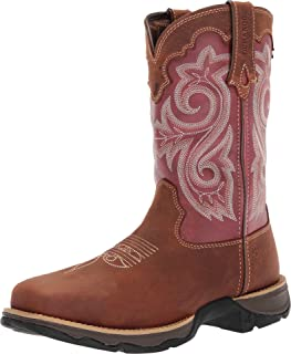 Lady Rebel Work by Durango Women's Waterproof Composite Toe Western Work Boot