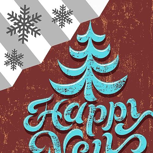 Frohes Neues Jahr Wetter Widget