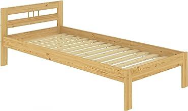 in Legno Massiccio Naturale Erst-Holz 60.35-10 100 x 200 cm Letto per futon con Rete Arrotolabile