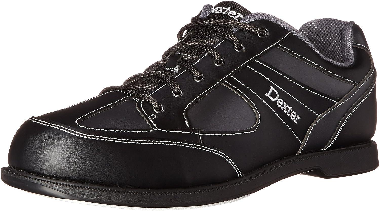 Dexter Men's Pro Am II Bowling shoes-Black Grey Alloy, US  7.5, UK  6