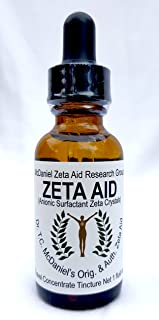 Zeta Aid Tincture - Dr. TC McDaniel's Original And Authorized Zeta Aid - 1 oz Travel Bottle