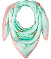 Kate Spade New York - Tossed Keys Square Scarf