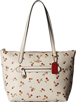 COACH - Cherries Print Taylor Tote