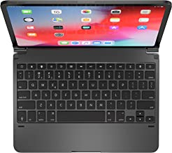 Brydge Pro 11.0 Keyboard for 11.0 inch iPad Pro 3rd Generation 2018 Model | Aluminum Wireless Bluetooth Keyboard with Backlit Keys | Long Battery Life | (Space Gray)