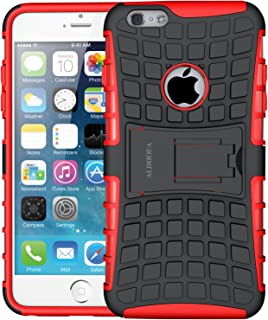 iPhone 6 Case,iPhone 6s Case, ALDHOFA Heavy Duty Shock Proof Rugged Armor Protective Phone Case,Dual Layer Hybrid Cover wi...