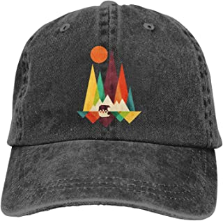 Bear in Whimsical Wild Quick Dry Sun Hats Sports Caps for Golf Cycling Running Fishing Sport Cap Summer Quick Drying Sun H...