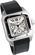 Cartier Men's W20090X8 Santos 100 XL Automatic Chronograph Watch