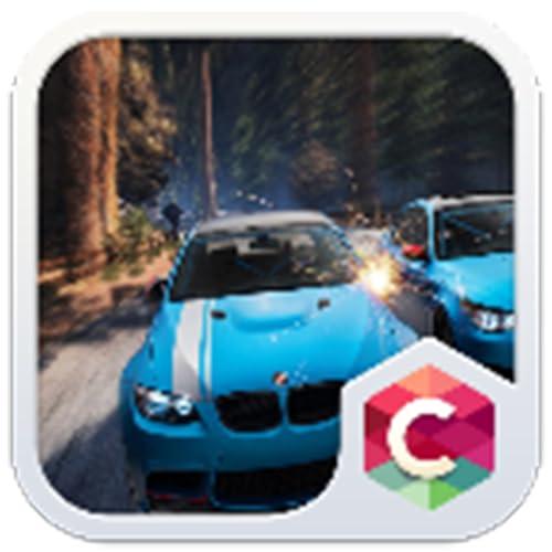Cartoon Car C Launcher Theme