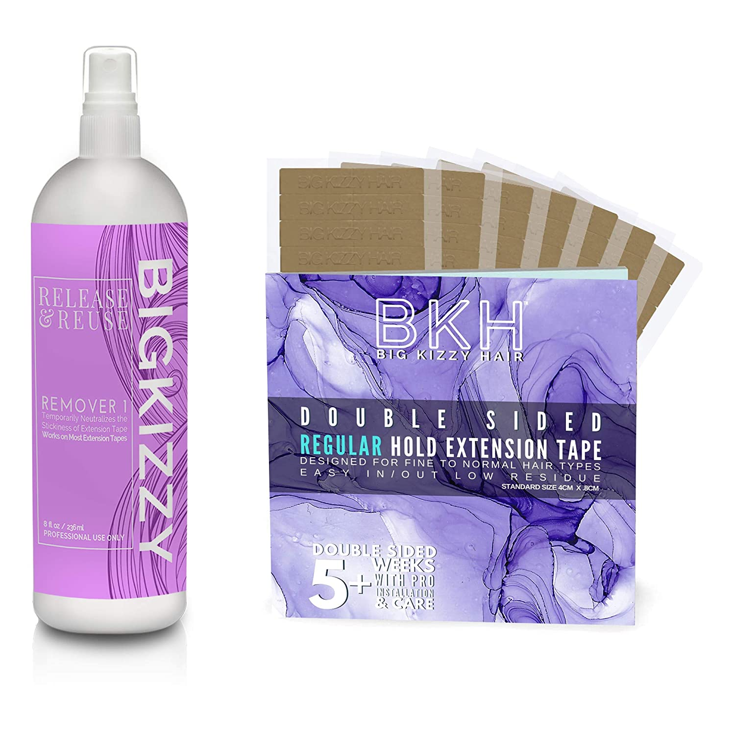 NEW before selling Big Kizzy Release Reuse Max 69% OFF Tape P Tested Hair Extension Remover