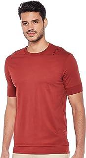 Armani Exchange Mens 3GZTLG T-Shirt, Red (Rosewood 1456), Large