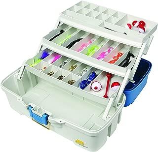 Plano Ready-Set-Fish 3-Tray Tackle Box with Tackle