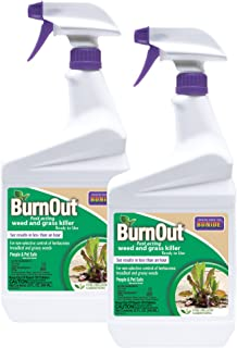 Bonide 74911 Burn-Out 32oz RTU 2-Pack Weed Killer, Brown/A
