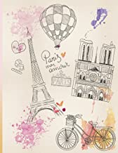 Paris Mon Amour: Journal/Notebook with 110 Inspirational Quotes Inside, Inspirational Thoughts for Every Day, Inspirational Quotes Notebook for Girls/Teens/Women (Inspirational Journal) (Volume 1)