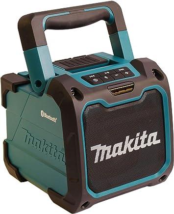 Makita Bluetooth Lautsprecher Box DMR202 10 m Reichweite USB 10,8-18 V