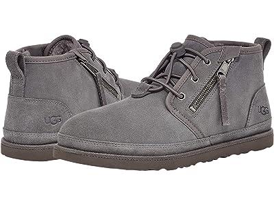 UGG Neumel Dual Zip Boot (Charcoal) Men