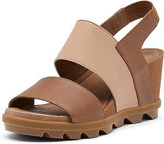 Sorel - Women's Joanie II Slingback, Leather Sandal with Wedge Heel