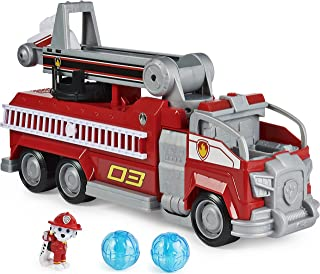 PAW Patrol De Film - Marshall Transformerende Brandweerwagen met ladder licht en geluid