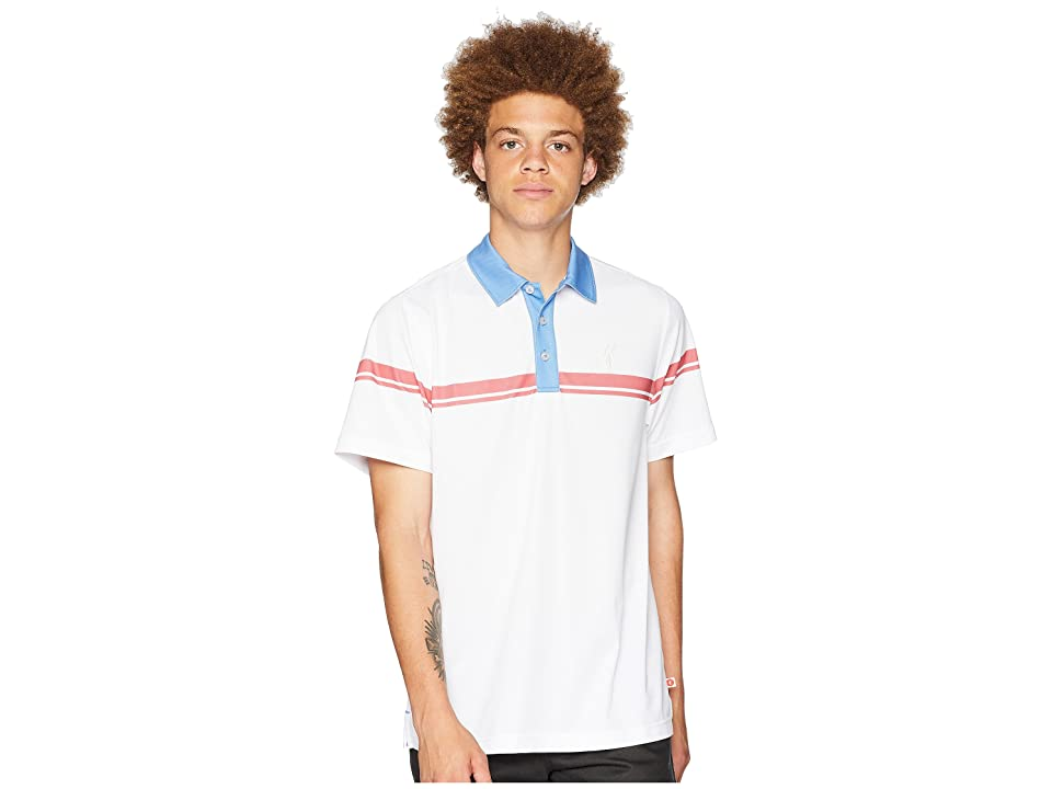 Toes on the Nose Onshore Performance Polo (Rivera) Men