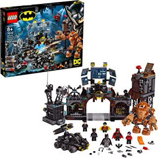LEGO DC Batman Batcave Clayface Invasion 76122 Batman Toy Building Kit with Batman and Bruce Wayne Action Minifigures, Popular DC Superhero Toy, New 2019 (1037 Pieces)