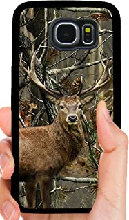 Deer Buck Staring Hunting Camo Camouflage Phone Case Cover - Select Model (Galaxy S5)