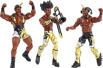 WWE FDX69 Elite Bootyos Etiqueta de Lucha Equipo Figuras de acción Triple Pack en Caja de Cereales