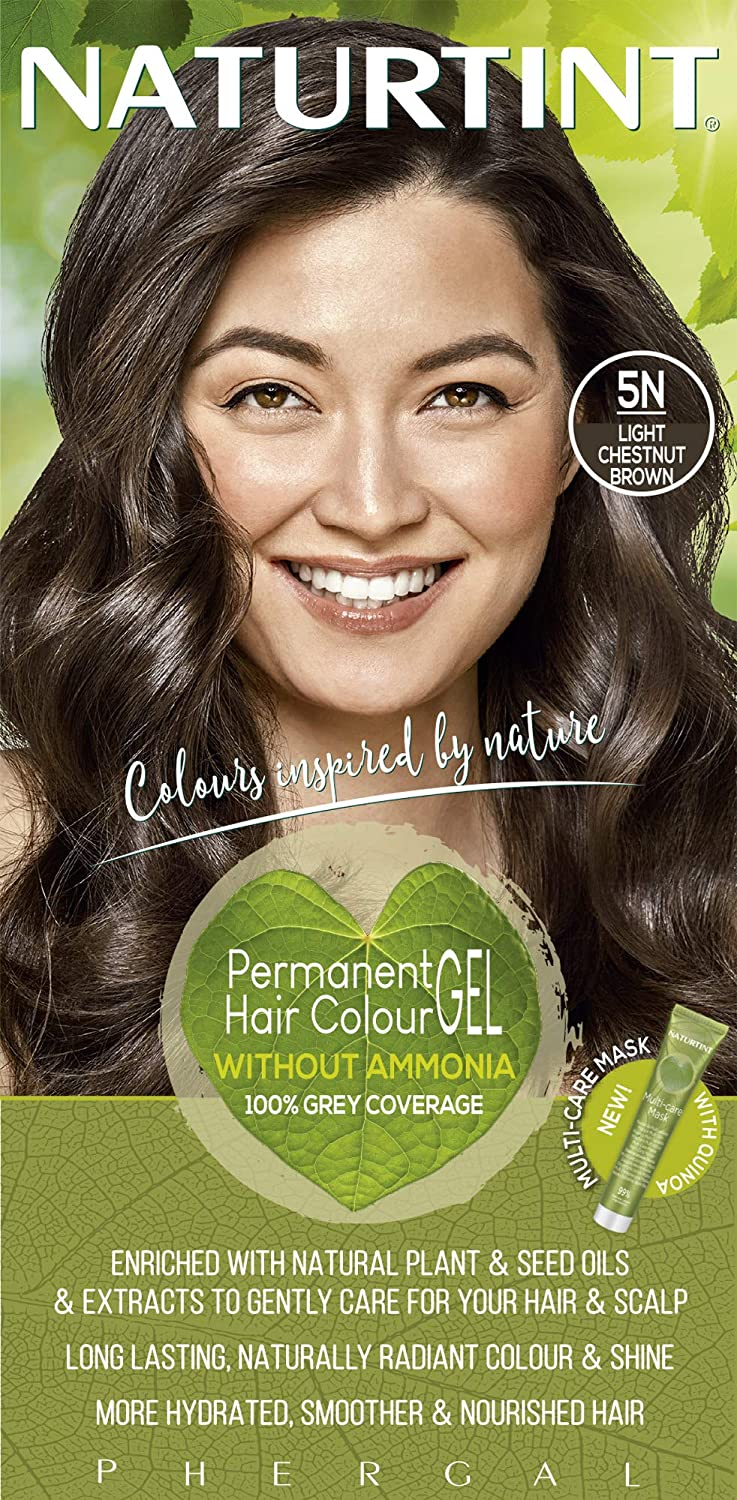 Naturtint Permanent 40% OFF Product Cheap Sale Hair Color 5N Brown Light of Chestnut Pack