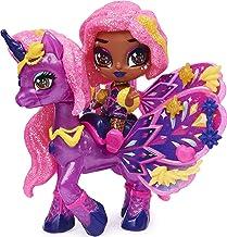 해치멀 에그 장난감 Hatchimals Pixies Riders, Wilder Wings Starlight Pixie and Unicorn Glider with 16 Wing Accessories