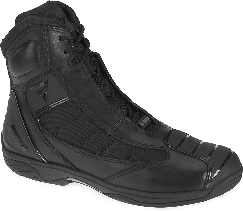 Bates Beltline Performance Men's Motorcycle Boots (Black, Size 8)
