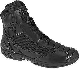 Bates Beltline Performance Men's Motorcycle Boots (Black, Size 9)