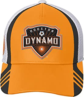 White MLS Houston Dynamo Youth Boys Fan Sublimated Snapback 1 Size