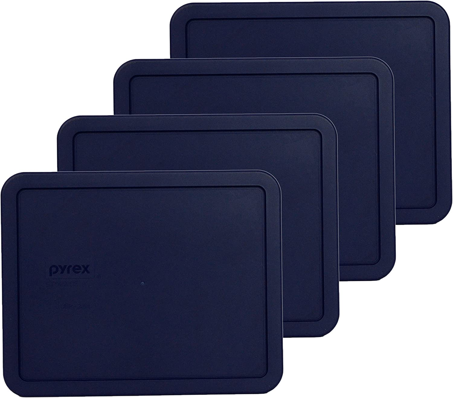 Pyrex 7212-PC 11 Cup Dark Blue Rectangle - Food Finally New life popular brand Lid 4 Storage Pa
