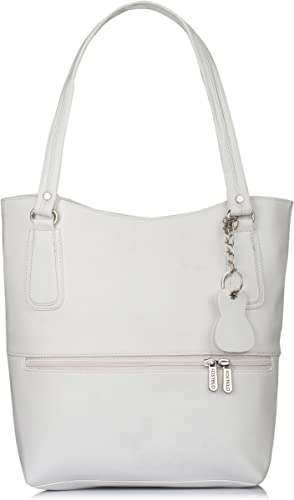 Women s Stacy Handbag White FSB 1174