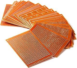 HiLetgo® 20pcs 5 * 7CM 94HB placas de prototipos de baquelita de soldadura terminado prototipo