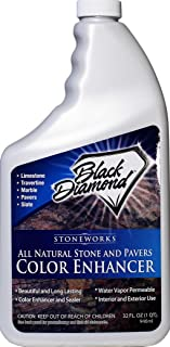 Color Enhancer Sealer for All Natural Stone and Pavers. Marble, Travertine, Limestone,Honed-Granite, Slate, Concrete, Grout, Brick, Block. (Quart, 1)