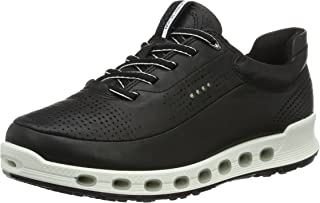 ECCO Women's Cool 2.0 Leather Sneakers, Black, 35 EU
