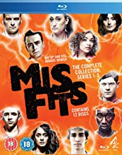 Misfits - Series 1-5 [Blu-ray] [Reino Unido]