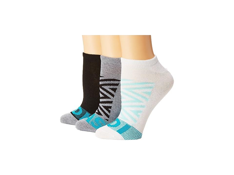 adidas - adidas Adigraphic 3-Pack No Show Socks