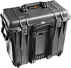 Pelican 1440 Case With Office Dividers and Lid Organizer (Black)