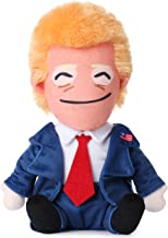 Talking Donald Trump Plush Doll - Say 10 Funny Positive Lines and Affirmations - Perfect Novelty Merchandise - Best Happy ...