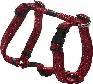 Rogz Utility Dog H-Harness, Red, Medium