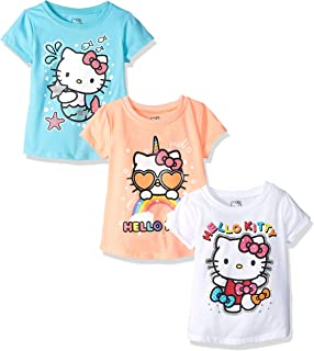 Hello Kitty Girls' 3 Pack T-Shirt
