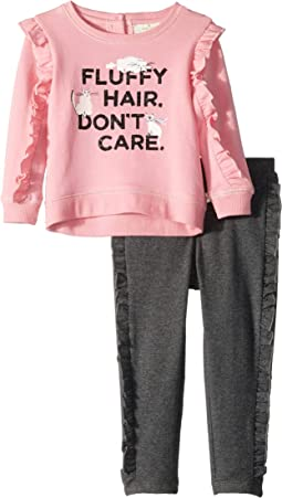 Kate Spade New York Kids - Fluffy Hair Leggings Set (Infant)