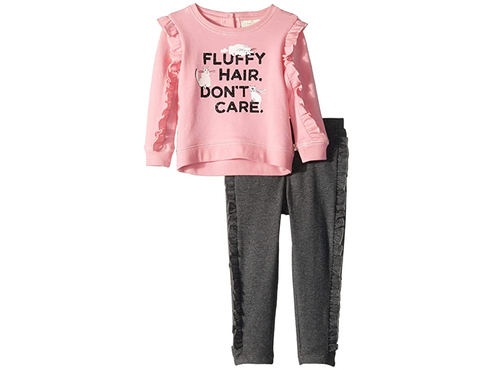 Kate Spade New York Kids - Kate Spade New York Kids Fluffy Hair Leggings Set